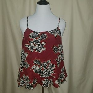 Maeve Anthropologie  Floral tank